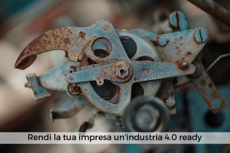 Rendi la tua impresa un'industria 4.0 ready